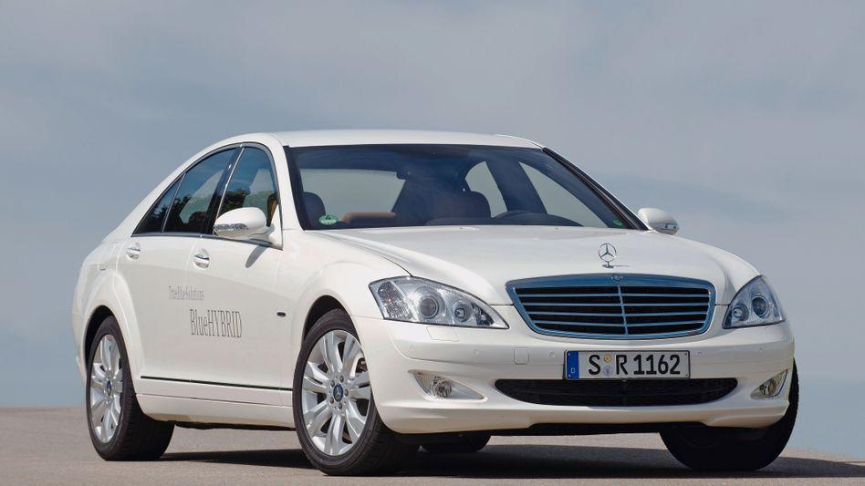 S-Klasse von Mercedes: Für Daimler könnte 2012 zum Rekordjahr werden