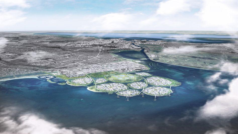 Inseln im Meer: Mehr Platz für Unternehmen