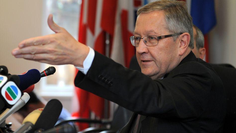 EFSF-Chef Klaus Regling: Zu Finanzhilfeverhandlungen in China eingetroffen
