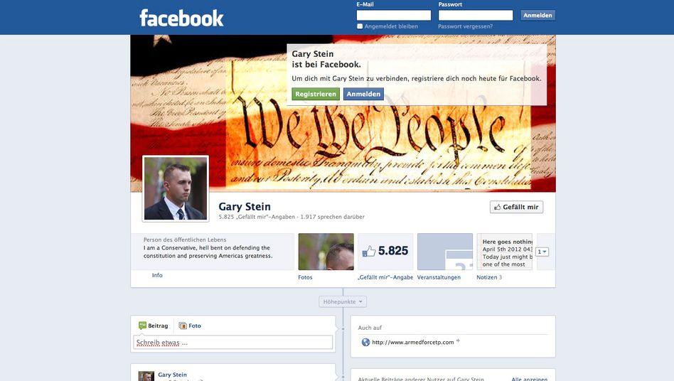 Facebook-Seite: Stein sind die eigenen Äußerungen zum Verhängnis geworden