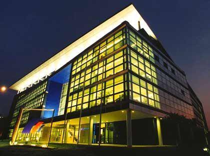 Lichtblick im Dax: Die Postbank in Bonn