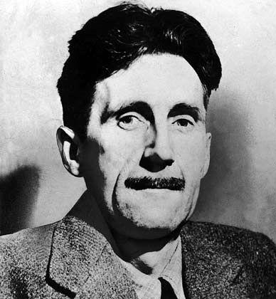"""Visionär: In seinem Buch """"1984"""" entwarf George Orwell das Szenario der totalen Überwachung durch """"Big Brother"""""""