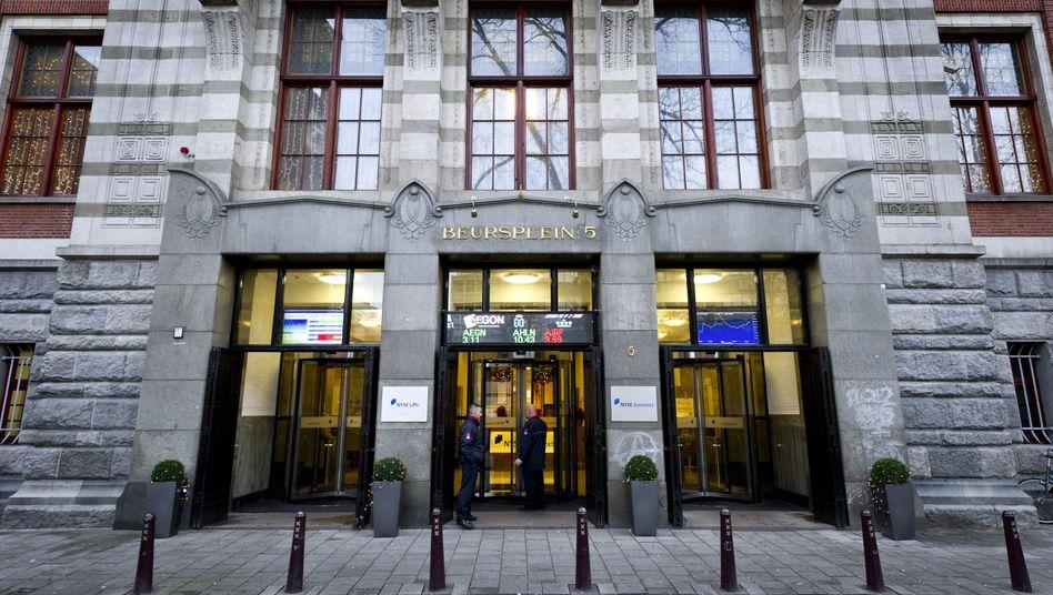 Börse Amsterdam: Neue Aktien von KPN zum Kauf angeboten