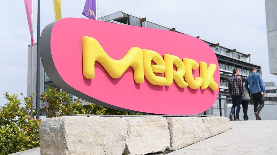 Merck-Stammwerk in Darmstadt: Der Pharmakonzern legt in den USA 6,5 Milliarden Dollar für Versum auf den Tisch.