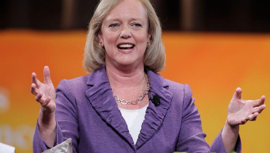 Whitman: Die Produkt-Pipeline sei die beste seit Jahren, findet die HP-Chefin - trotzdem tritt der Konzern auf der Stelle