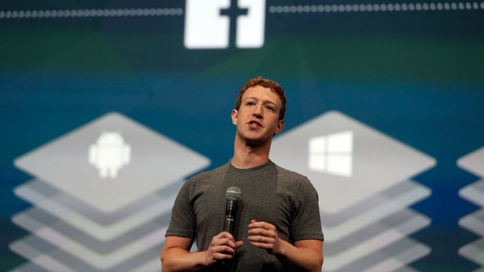 Grau, grau und grau: Mark Zuckerberg hat mehr als ein T-Shirt in dieser Farbe