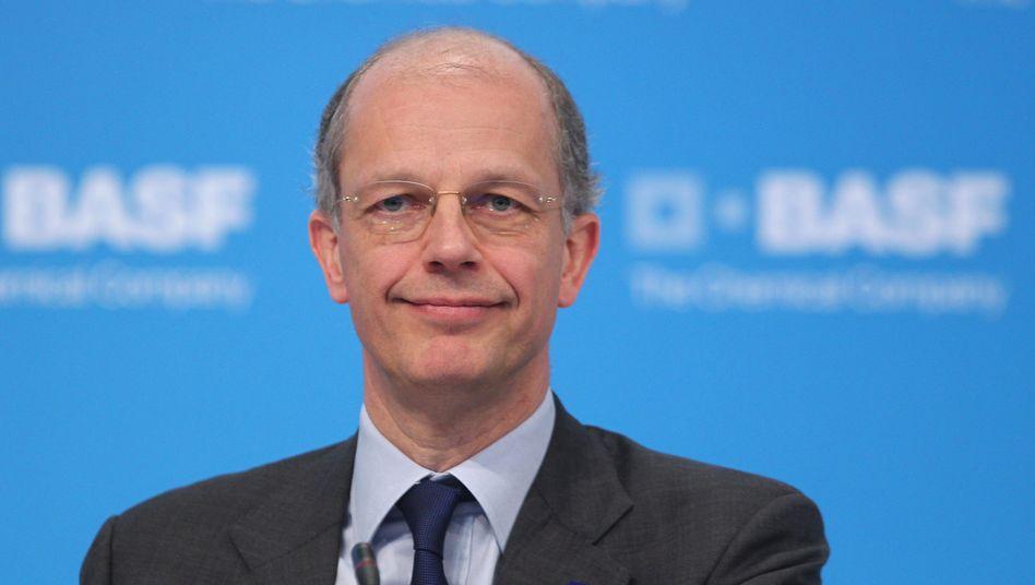 """BASF-Vorstandschef Kurt Bock: """"Unsere Kunden sind nicht bereit, einen Energiezuschlag auf Produkte """"Made in Germany"""" zu zahlen"""""""