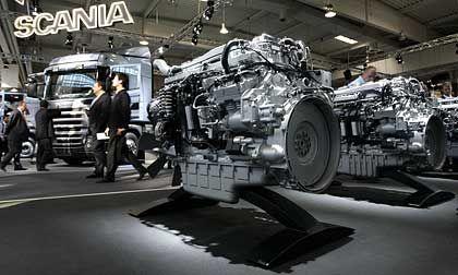 """Scania auf der IAA: Investor will """"als Eigner dabeibleiben"""""""