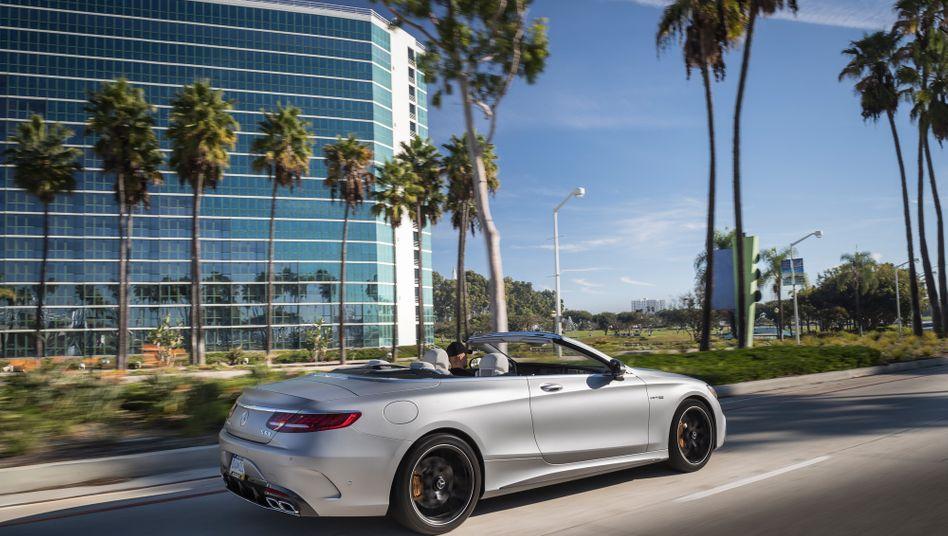 Mercedes: Nach Ansicht von Trump bedrohen deutsche Autos die nationale Sicherheit der USA