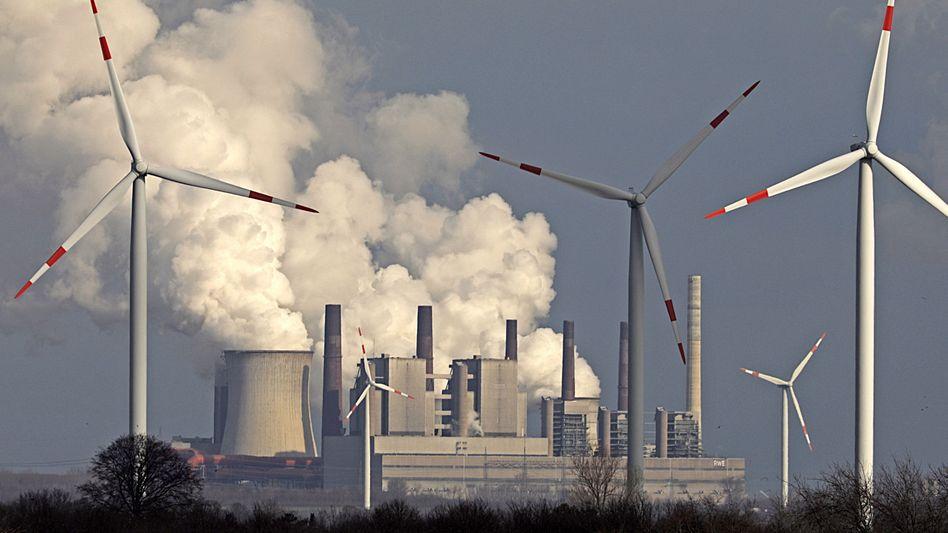 Dreckschleuder: Das RWE-Kraftwerk Neurath ist Deutschlands größter CO2-Emittent.