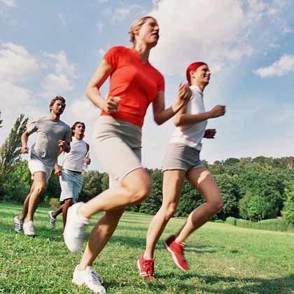 Lebenslange Disziplin: Wer dauerhaft schlank bleiben möchte, kommt um viel Bewegung nicht herum