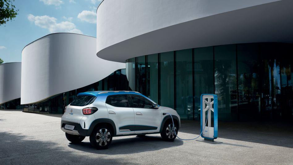 Für China hat Renault den K-ZE mit entwickelt, Dacia will eine EU-Version für 15.000 Euro anbieten.