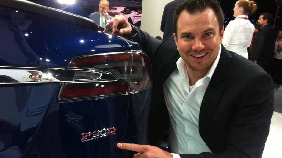 """""""Am Anfang wurde ich von vielen belächelt. Inzwischen werden wir sehr ernst genommen"""": Jochen Rudat, Teslas Deutschland-Chef"""