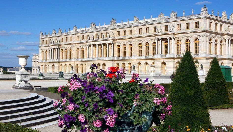 In Kürze auch in Hamburg? Das französische Schloss Versailles gäbe eine gute Unterkunft für Frankreichs Präsidenten Macron beim G20-Gipfel ab