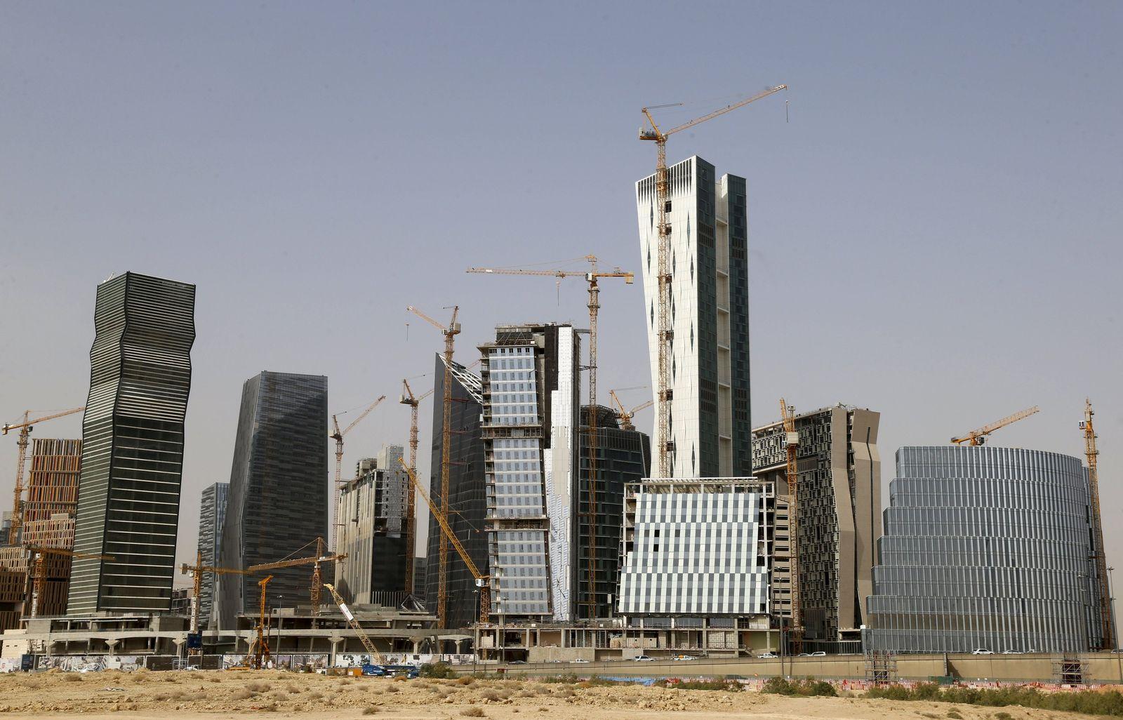 Saudi-Arabien / Riad / Finanzbezirk