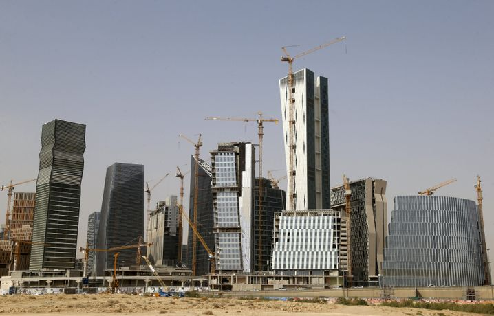 Ziemlich viel Leerstand im König-Abdullah-Finanzbezirk