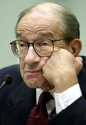 Vertraut auf die Selbstregulierung der Märkte: US-Notenbankchef Alan Greenspan