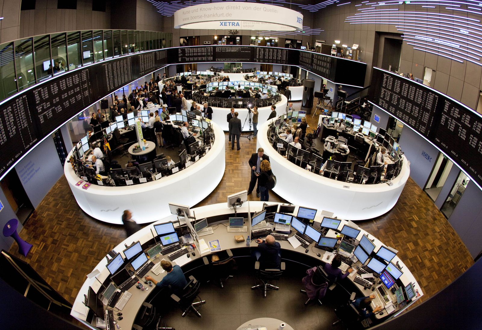 Frankfurter Börse feiert 425. Jubiläum