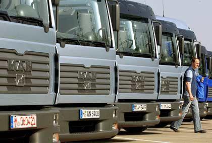 MAN-Lastwagen: Zu klein für eine große Zukunft?
