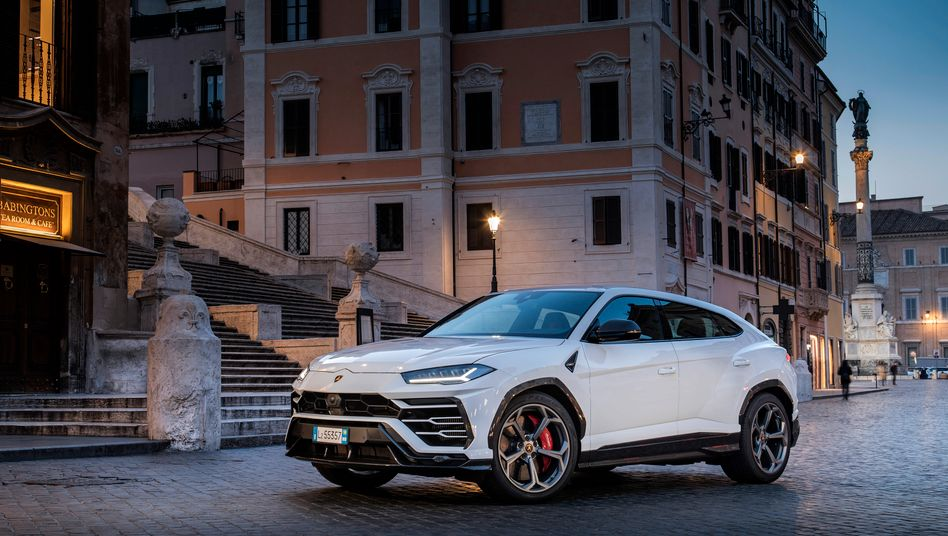 Kommt gut an: Lamborghinis SUV-Modell Urus