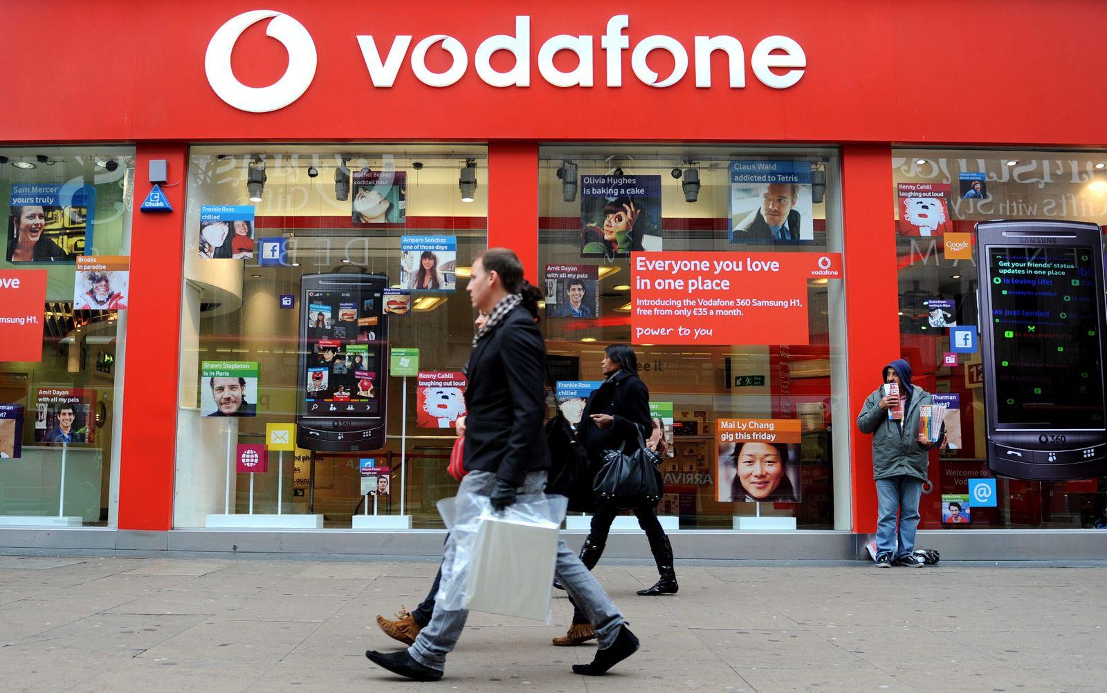 Schwaches Südeuropa-Geschäft führt bei Vodafone zu Einbrüchen