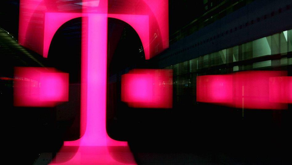Logo der Deutschen Telekom: Antrag auf Genehmigung des Deals zurückgezogen