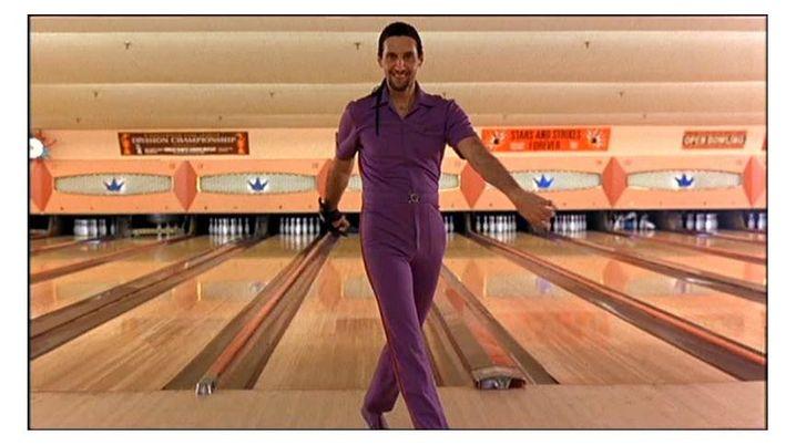 """""""Niemand verarscht Jesus"""": Dem Bowling-Match mit dem Kontrahenten Jesus Quintana würde Lebowski gerne aus dem Weg gehen"""