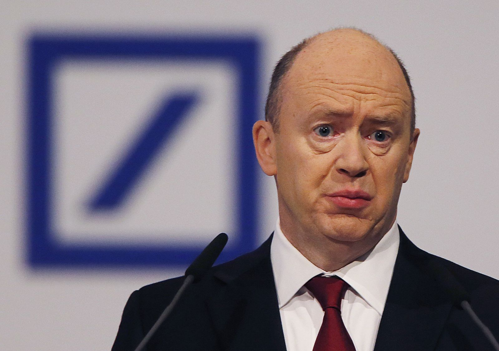 John Cryan Deutsche Bank
