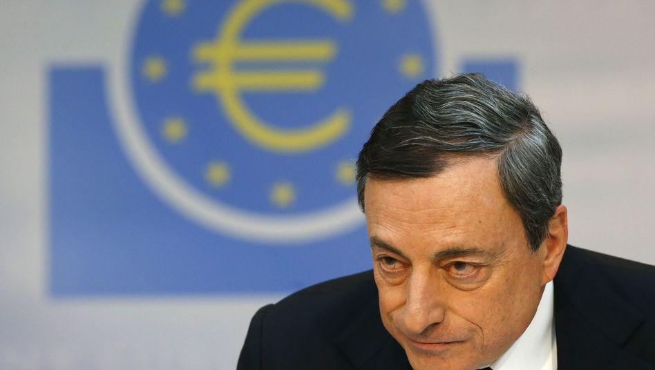 EZB-Präsident Draghi: Billiges Geld gegen den Preisverfall