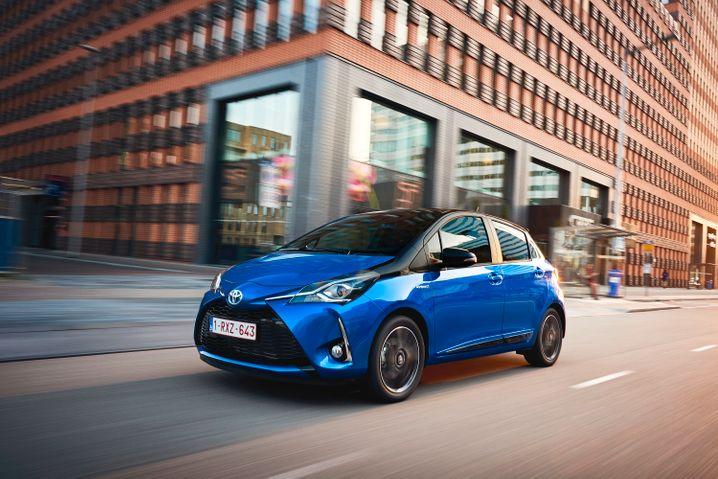 Kleinwagen als Hybrid: Der Yaris Hybrid von Toyota ist ab 18.240 Euro zu bekommen