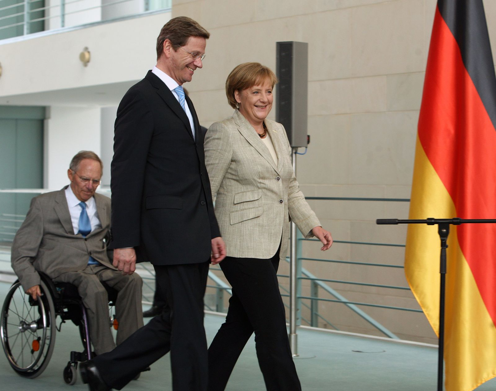 Westerwelle/ Merkel/ Schäuble