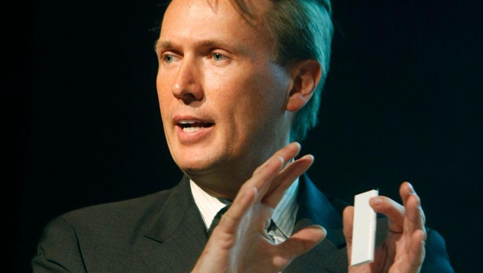 Marco Börries, als er noch für Yahoo in Aktion war.