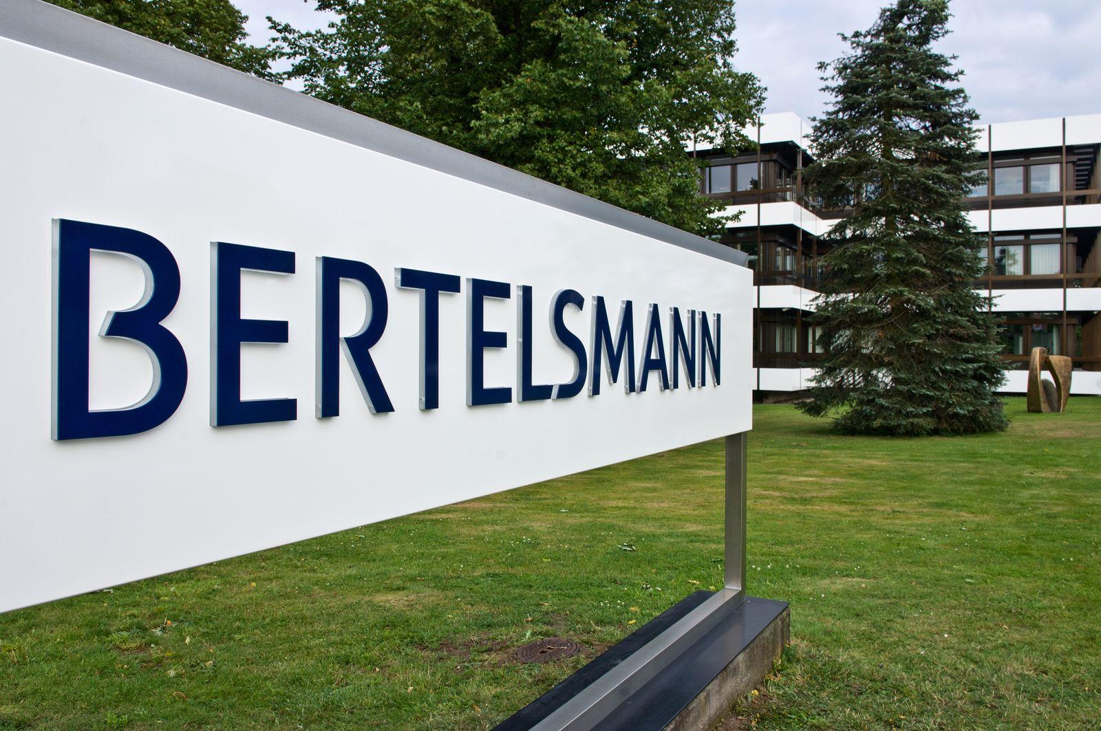 NICHT VERWENDEN Bertelsmann Logo Gütersloh