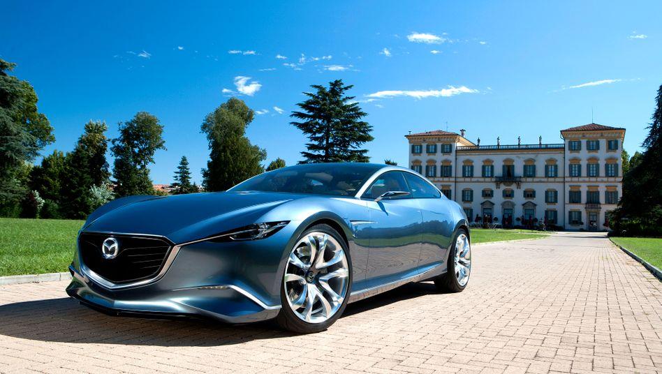 Mazda-Studie Shinari: Für große Würfe sind die Japaner auf Partner angewiesen