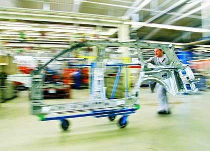 Karosseriefertigung: ThyssenKrupp geht davon aus, dass sich das Automobil-Zuliefergeschäft in den kommenden Monaten weiter positiv entwickeln wird