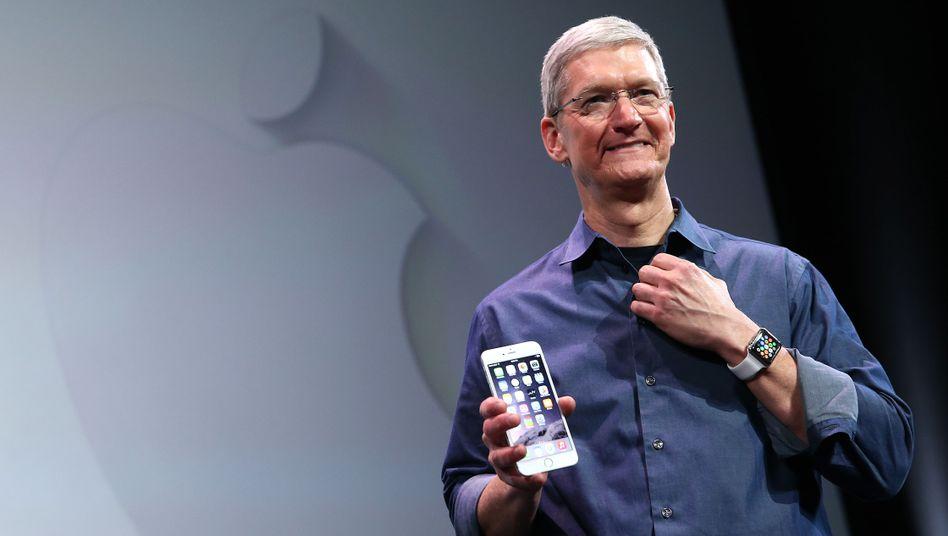 iphone 6: Die Verkaufspreise im Handel für etwas ältere Geräte sinken zwar mit jedem neuen Modell und Apple rechnet im laufenden Quartal auch erstmals mit weniger verkauften iPhones. Doch nur des Absatzes wegen wird es kein Billig-Smartphone geben