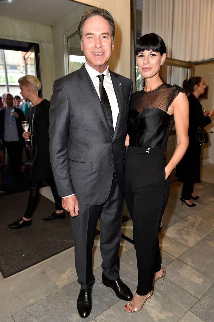 Vater und Tochter: Michael und Julia Stoschek.