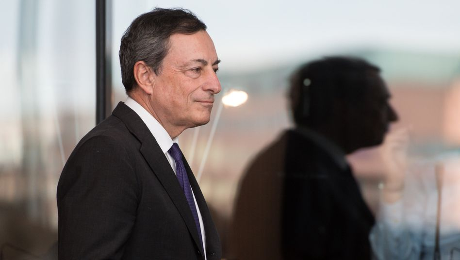 EZB-Chef Mario Draghi: