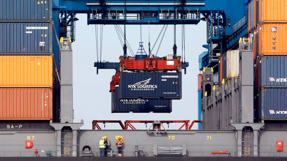 Teure Einfuhren: Die Preise für Importgüter sind im Vergleich zum Vorjahresmonat um 10 Prozent gestiegen