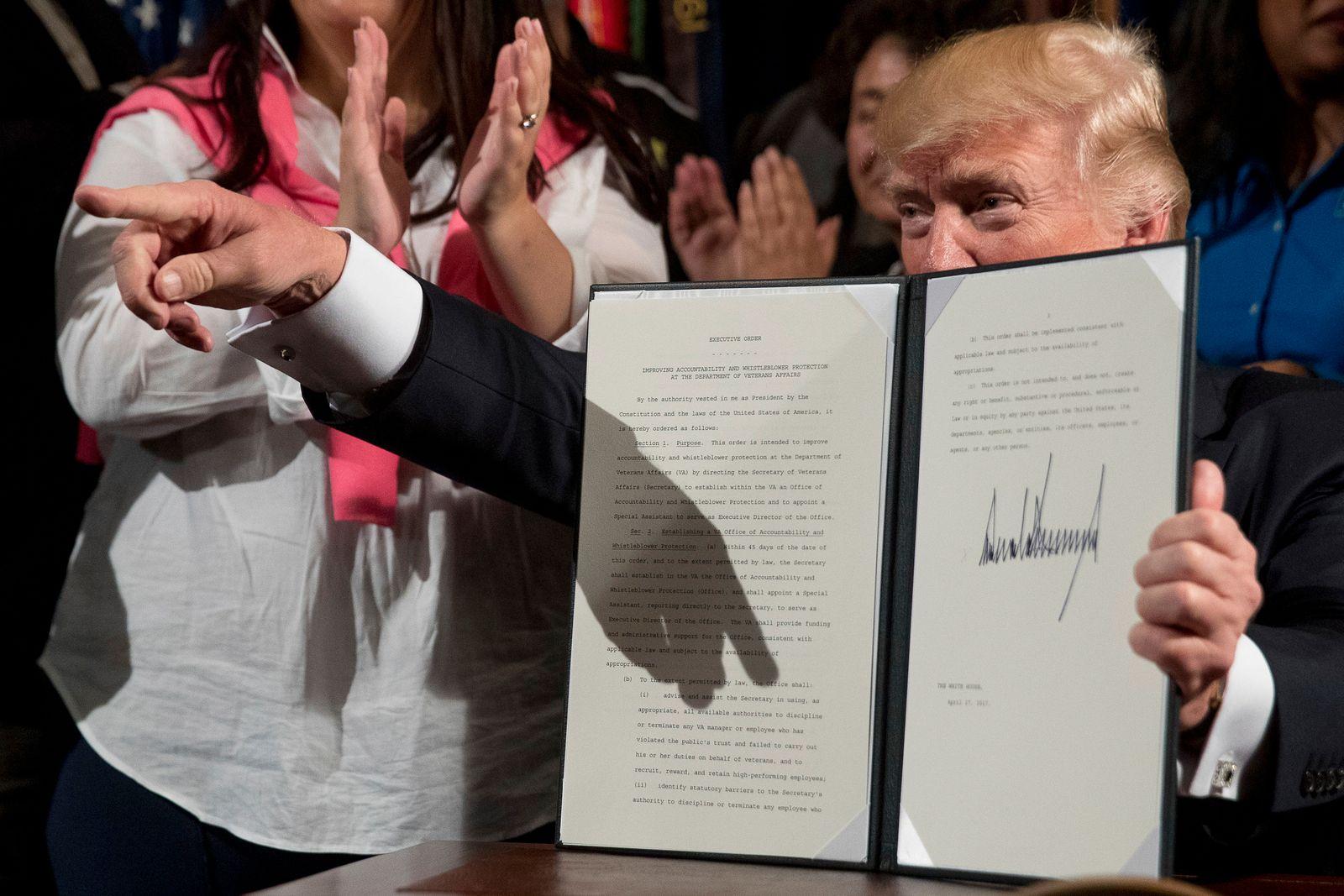 Trump/ Erlass