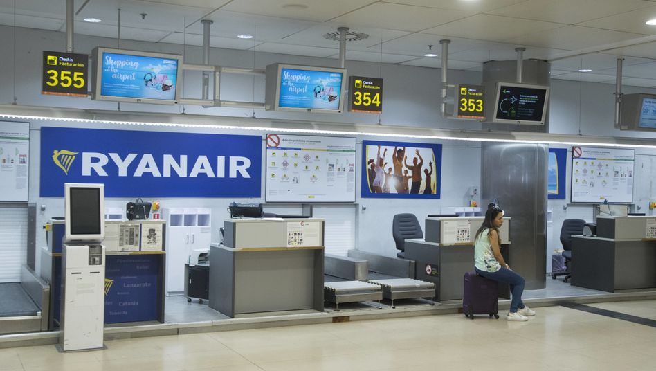 Ryanair-Check-in: Am morgigen Freitag wollen die Ryanair-Piloten in vielen europäischen Ländern streiken - auch in Deutschland