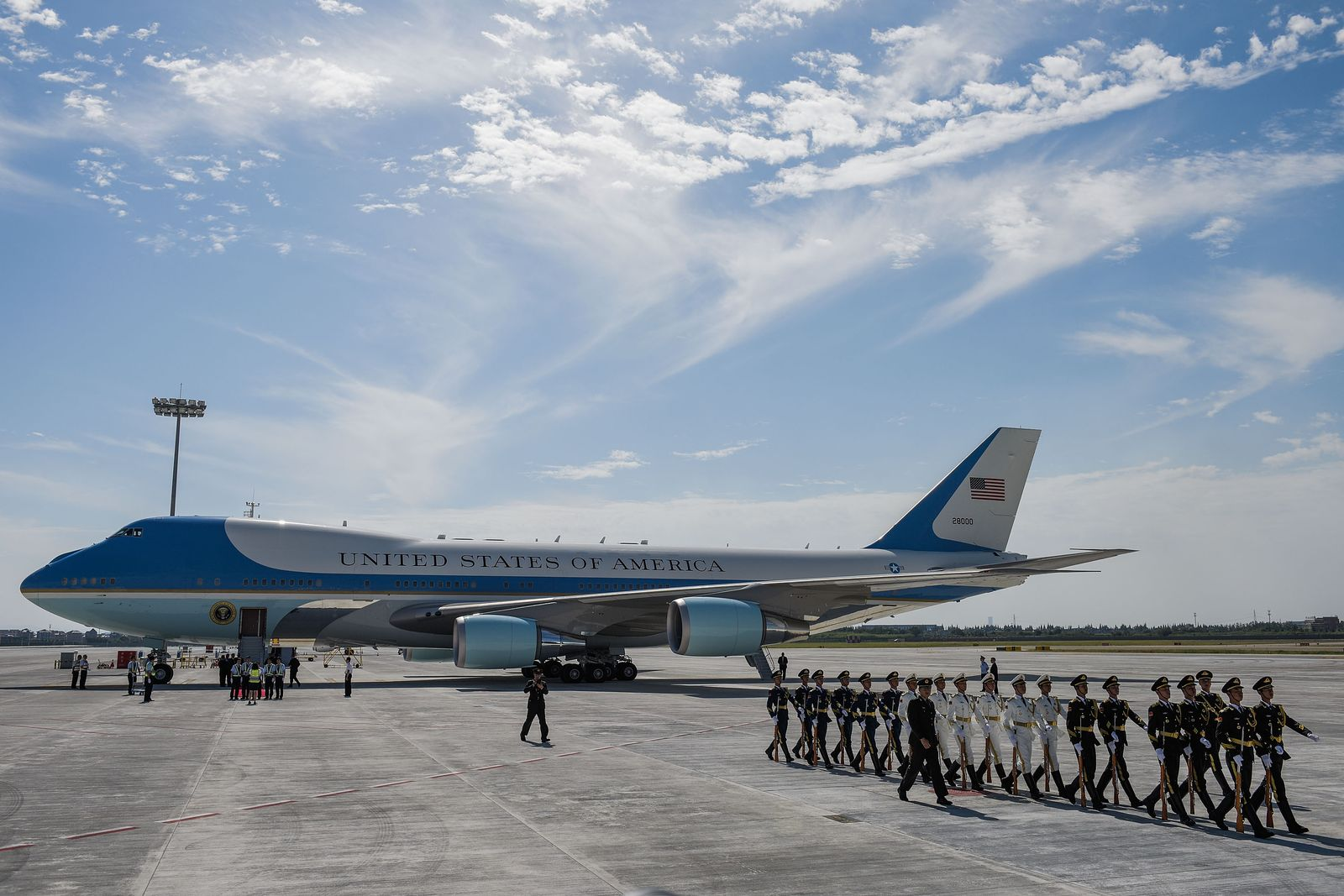 air force one china
