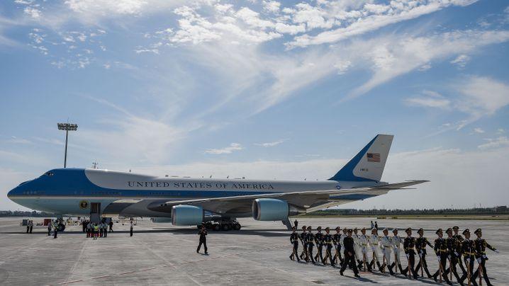 Willkommen im Club, Donald Trump: Diese Staatschefs fliegen Jumbo Jet