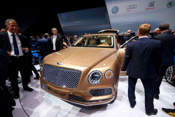 Großes Gedränge: Der Bentley Bentayga