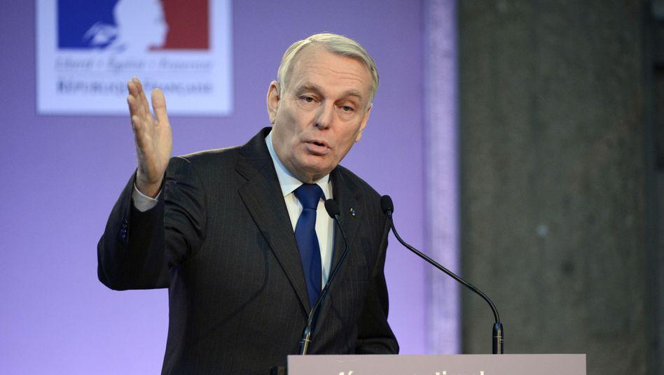 Jean-Marc Ayrault: Frankreichs Regierungschef erklärt wie erwartet, sein Land werde die 3-Prozent-Grenze nicht einhalten können