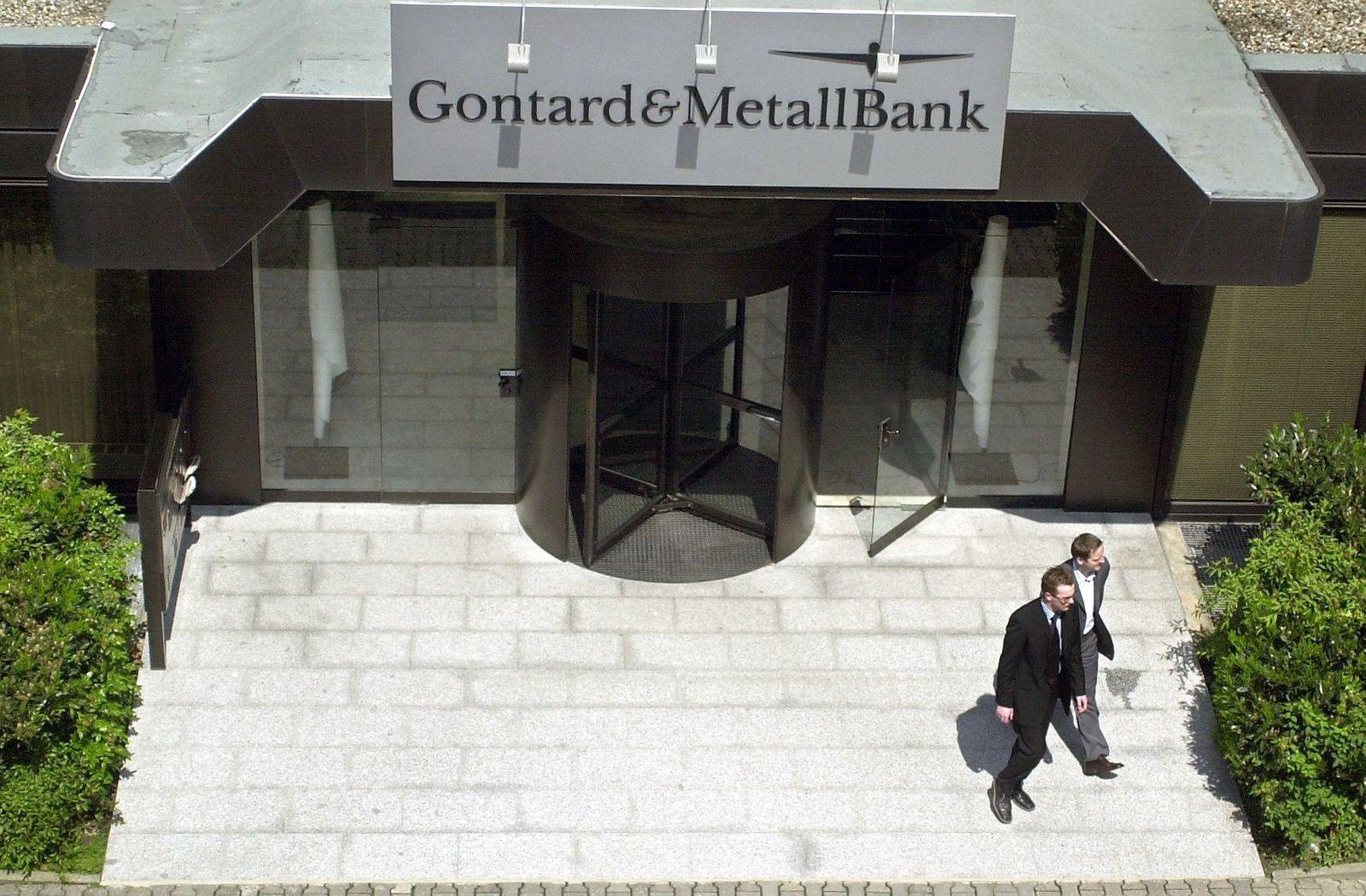 Gontard & Metallbank geschlossen