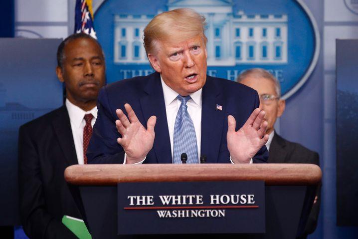 """Donald Trump: """"Ehrliche Führung"""" - das wäre mal was Neues"""