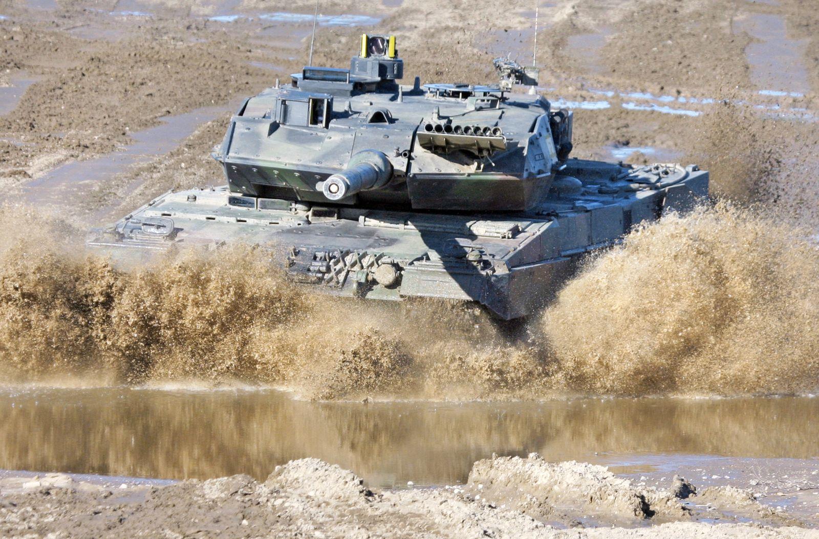 SP 28/2011 S. 23 Exporte für INTERNATIONAL Kampfpanzer Leopard 2