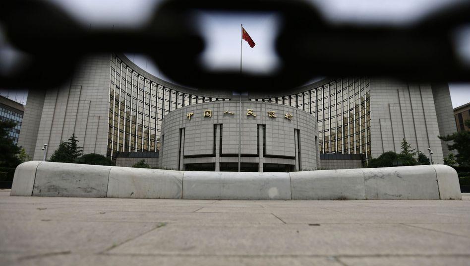 Chinas Zentralbank: Kampf gegen faule Kredite