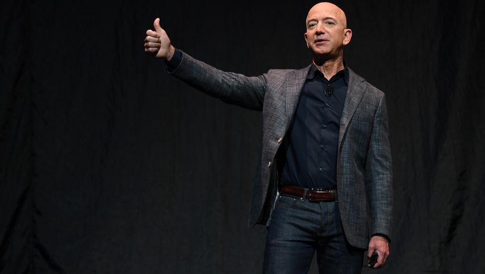 Amazon-Chef Jeff Bezos (Archivaufnahme, 2019)